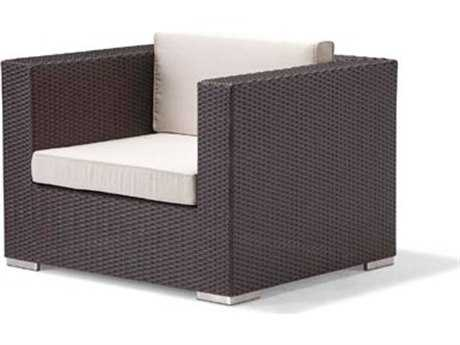 Caluco Dijon Wicker Majestic Black Lounge Chair PatioLiving