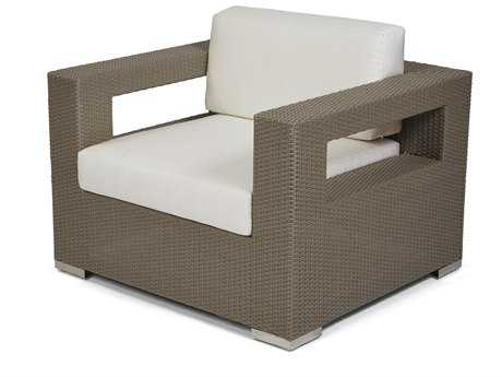 Caluco 10 Tierra Wicker Mocaccino Lounge Chair PatioLiving