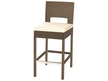 Caluco 10 Tierra Wicker Mocaccino Bar Stool PatioLiving
