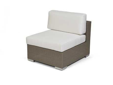 Caluco 10 Tierra Wicker Mocaccino Modular Lounge Chair PatioLiving