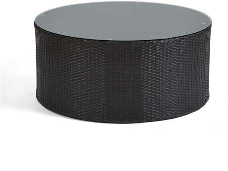 Caluco Cosmic Wicker 30 Round Coffee Table