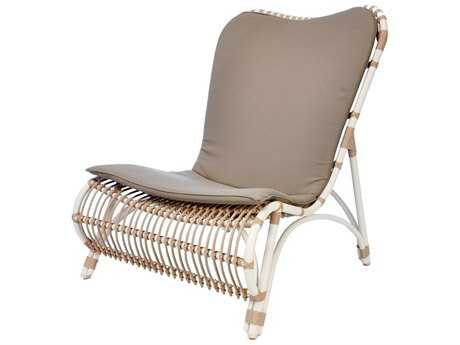 Caluco Alegria Aluminum Armless Club Chair