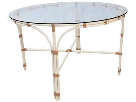 Caluco Alegria Aluminum 47'' Wide Round Dining Table