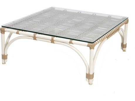 Caluco Alegria Aluminum 29 Square Coffee Table
