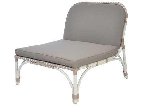 Caluco Alegria Aluminum Ottoman for Club Chair
