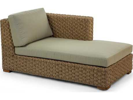 Caluco Artesano Wicker Sectional Left Chaise Lounge