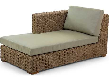Caluco Artesano Wicker Sectional Right Chaise Lounge