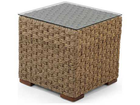 Caluco Artesano Wicker 21 Square End Table