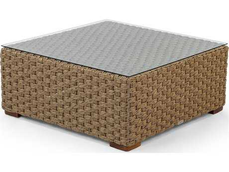 Caluco Artesano Wicker 37 Square Coffee Table