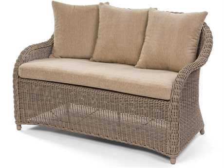 Caluco Amelie Wicker Loveseat