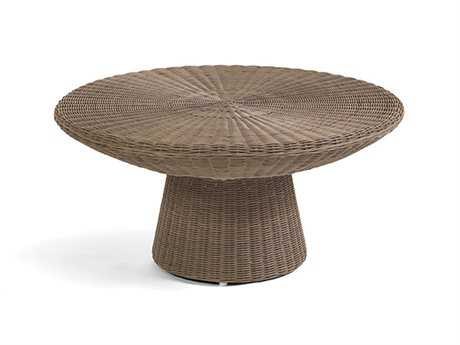 Caluco Amelie Wicker 36 Round Coffee Table