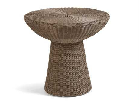 Caluco Amelie Wicker 28 Round End Table