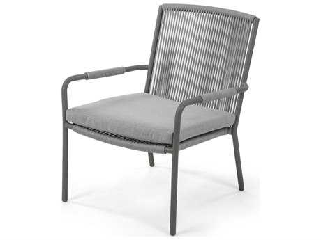 Caluco Felicidad Aluminum Club Chair