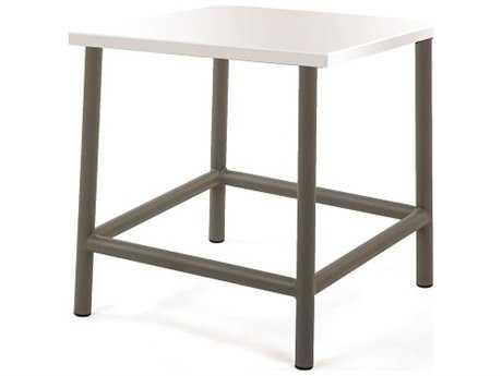 Caluco Felicidad Aluminum 19 Square End Table