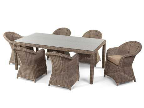 Caluco Amelie Wicker Dining Set