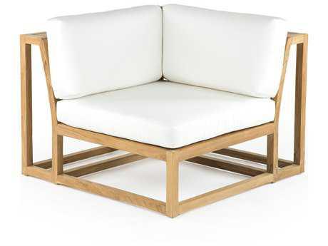 Caluco Cozy Teak Sectional Corner Replacement Cushion