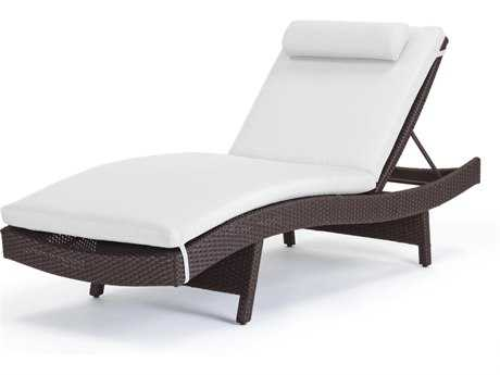 Caluco Dijon Curved Single Chaise Replacement Cushion PatioLiving