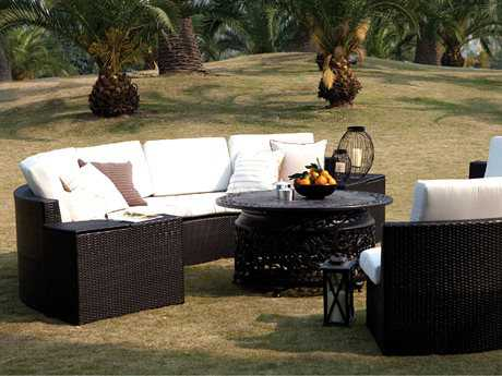 Caluco Cosmic Wicker Lounge Set