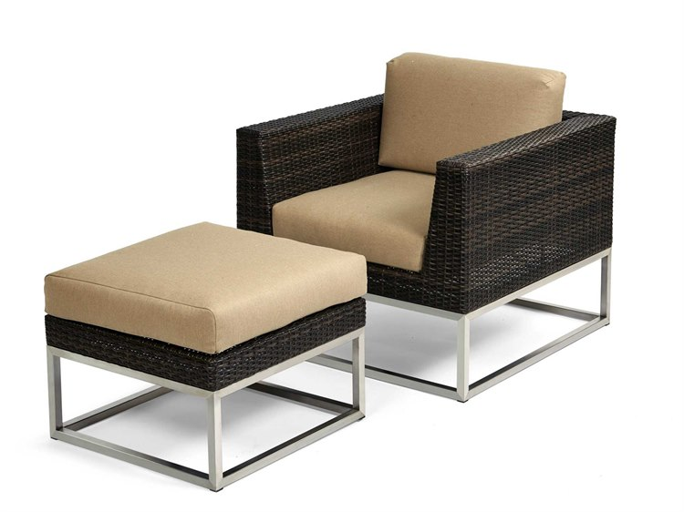 Caluco Mirabella Wicker Lounge Cushion Set Irlngeset1
