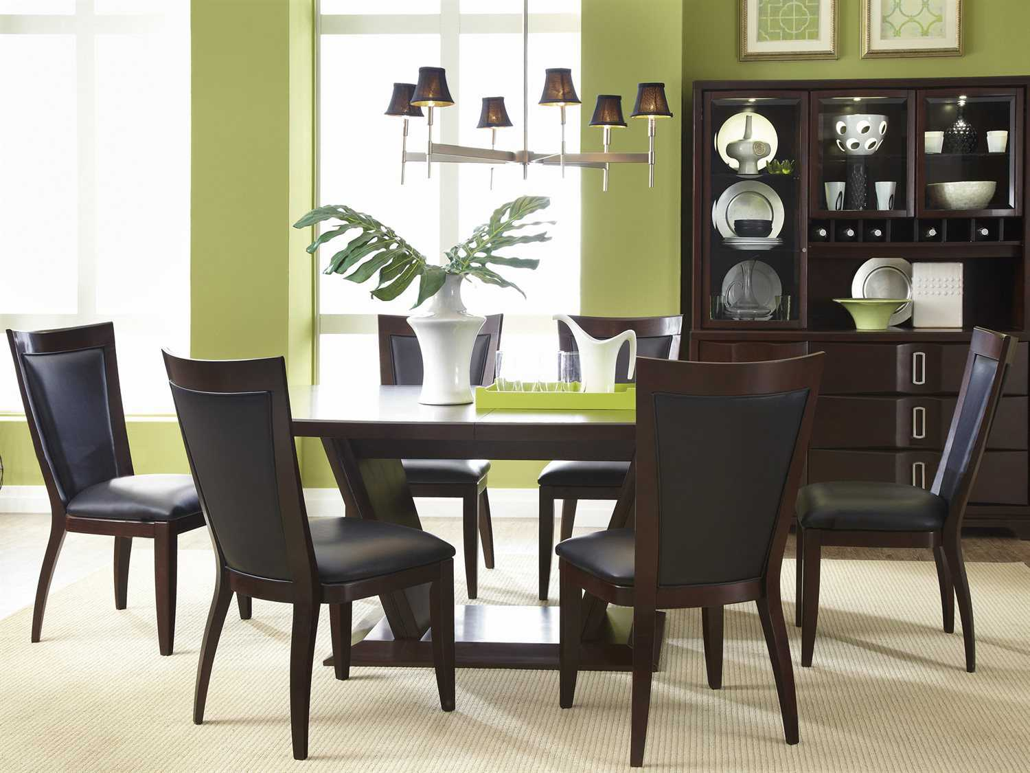 Casana Brooke 7 Piece Table Chair Set CX216154K7P