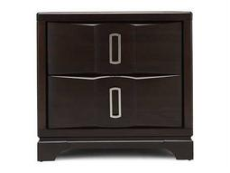 Casana Brooke 28 x 19 Rectangular Two Drawer Nightstand