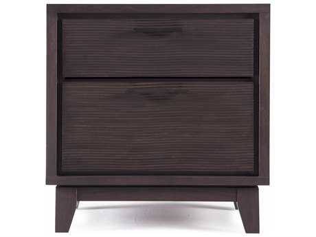 Casana Sierra Mindi 25'' x 18'' Rectangular Two Drawer Nightstand