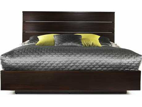 Casana Manola Collection Coffee LED Panel King Bed