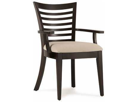 Casana Beckett Dark Birch Dining Arm Chair