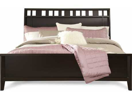 Casana Beckett Dark Birch Sleigh Queen Bed