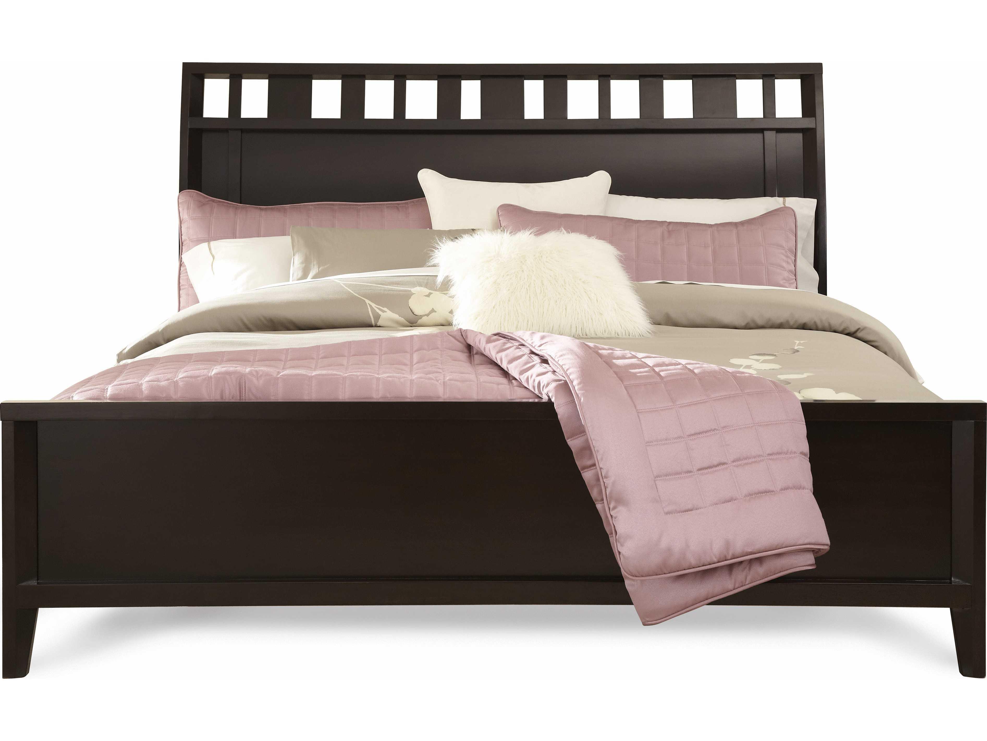 Casana Beckett Dark Birch Sleigh Queen Bed CX355920KQ