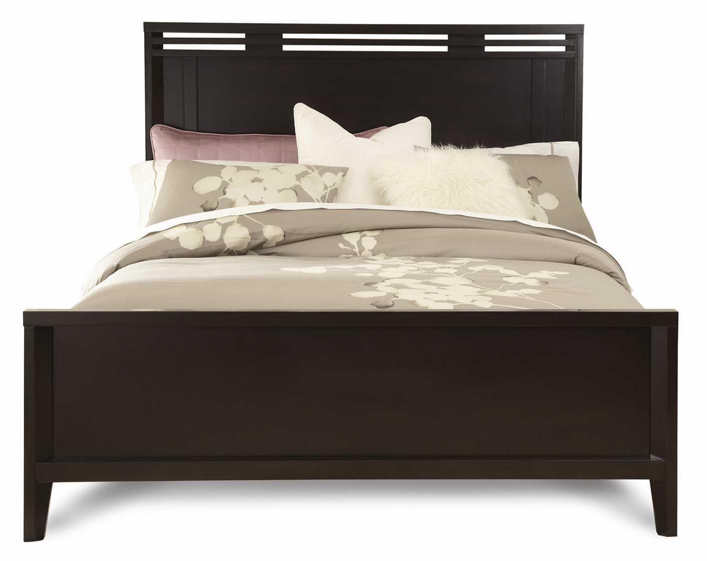 casana beckett queen wood panel bed cx355941kq