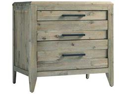 Casana Harbourside Weathered Acacia 27'' x 19'' Two Drawer Nightstand
