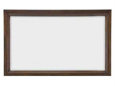 Casana Vista Walnut Portrait 40'' x 43'' Dresser Mirror