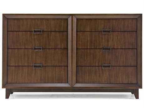 Casana Vista Walnut Eight Drawer 72'' x 20'' Dresser