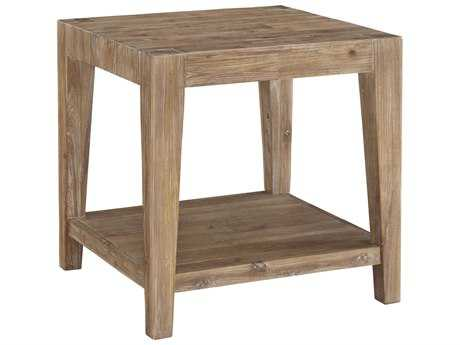 Casana Tyler Weathered Acacia 24'' Square End Table