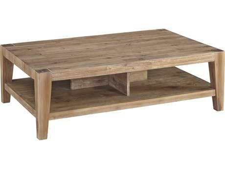 Casana Tyler Weathered Acacia 46'' x 29'' Rectangular Coffee Table