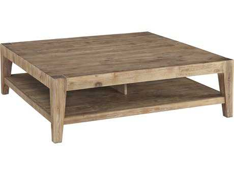 Casana Tyler Weathered Acacia 46'' Square Coffee Table