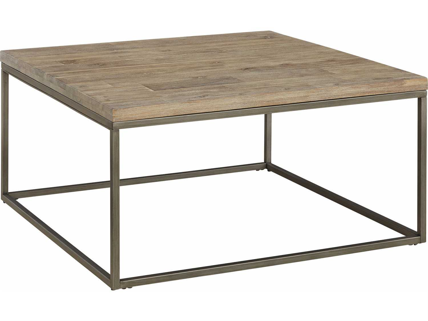Casana Alana Weathered Acacia 36 Square Coffee Table