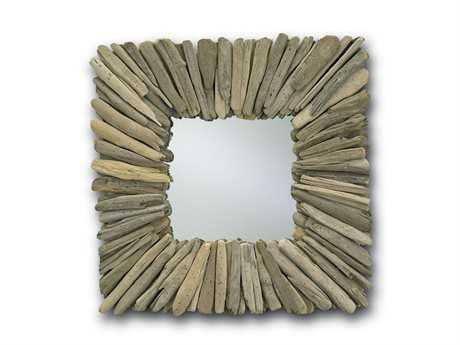 Currey & Company Beachhead 21'' x 21'' Wall Mirror