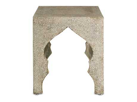 Currey & Company 18'' Square Casablanca Occasional Table