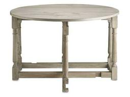 Currey & Company 47'' Round Garrison Drop Leaf Table
