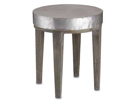 Currey & Company 18'' Round Wren End Table
