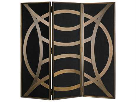 Currey & Company Clara Bronze Clara Folding Screen