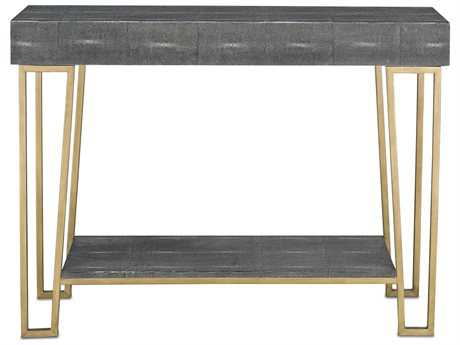Currey & Company Marlowe Black Console Table