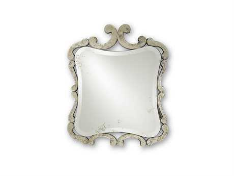 Currey & Company Currey In A Hurry Sazerac 28'' x 33'' Wall Mirror