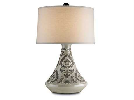 Currey & Company Gray Tagine Table Lamp