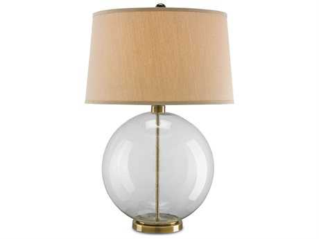 Currey & Company Courtland Coffee Bronze Table Lamp
