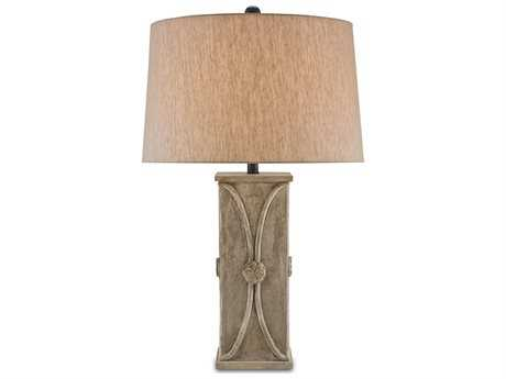 Currey & Company Coatsbridge Antique Concrete Table Lamp