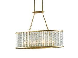 Currey & Company Frinton Dutch Gold 10-Light 40'' Wide Island Light