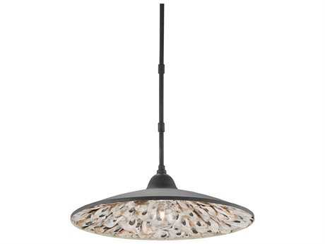 Currey & Company Coastline French Black Pendant Light